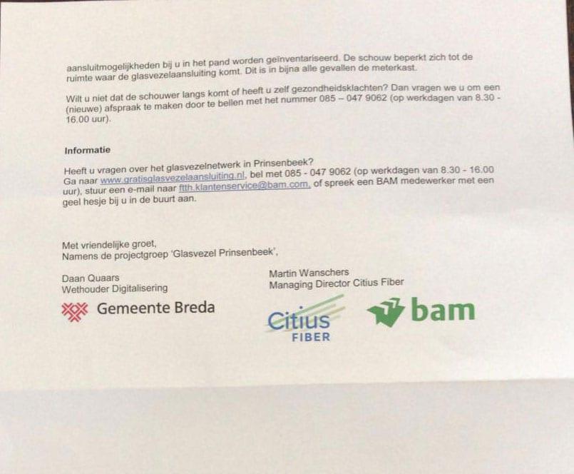 Gemeente Breda trapt af